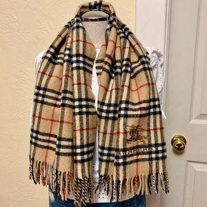 burberry wool scarf